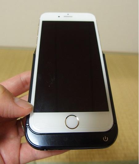 パワーケースにiPhone6パイルダーオン