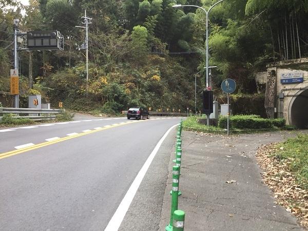 京都市側の旧老ノ坂峠入り口