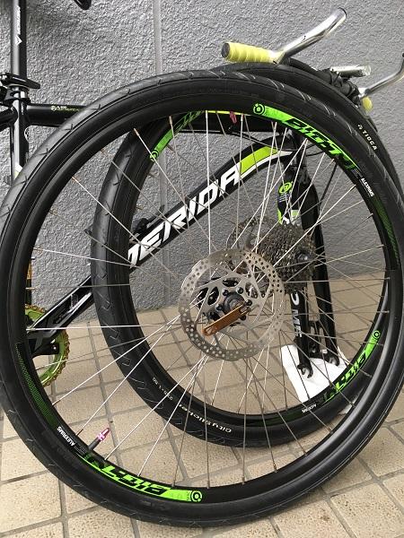 簡単だから自転車のタイヤ交換を自分でやってみよう!